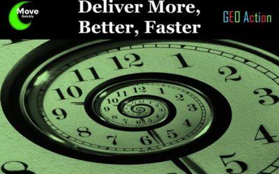 Deliver More, Faster